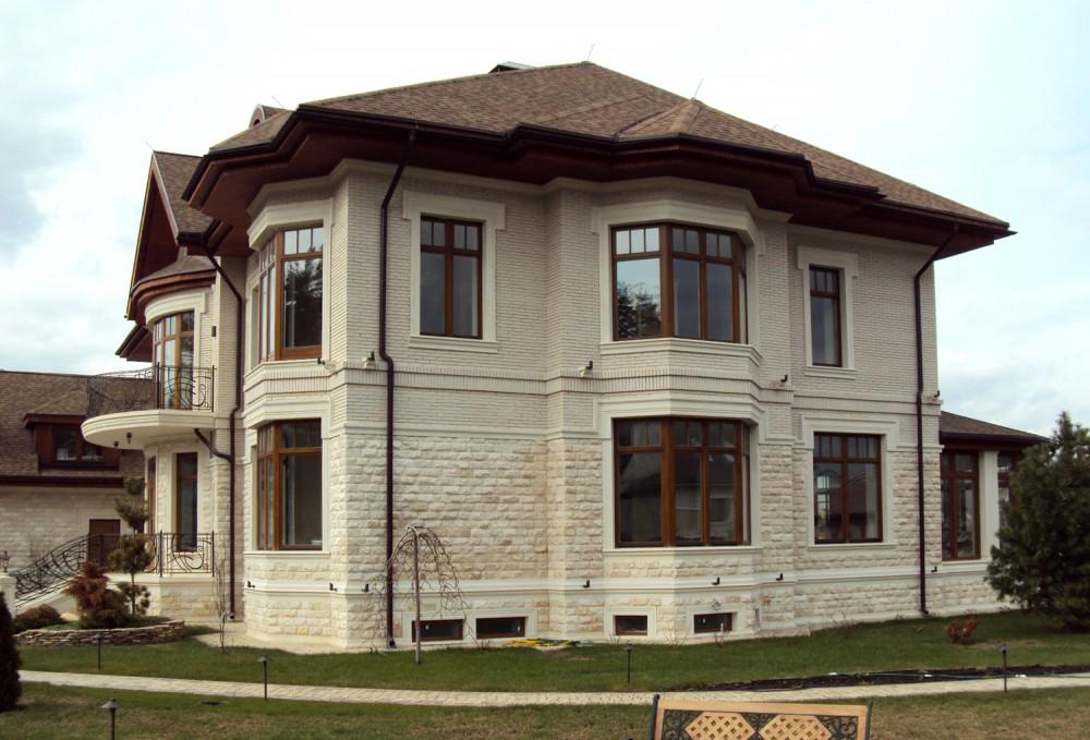 Фото готовых домов и коттеджей